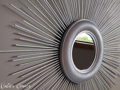 diy sunburst mirror ideas 50 Gorgeous DIY Wall Art Ideas For Your House interior design 2