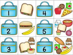 10 Math Learning Center Activities with coordinating worksheets. Covers counting sets and matching to number counting out objects to match given number, sequencing by finding missing numbers. Kindergarten Math Activities, Kindergarten Teachers, Math Classroom, Math Resources, Teaching Kids, Autism Activities, Preschool, Instructional Planning, Sudoku