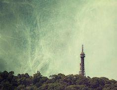TOWER  Petrin landscape photography Prague storm by MagicSky, Kč400.00