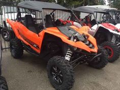 New 2016 Yamaha YXZ1000R Blaze Orange/Black ATVs For Sale in Washington. 2016 Yamaha YXZ1000R Blaze Orange/Black, 115 hp, 5-speed sequential gearbox, 998 inline triple engine, On-command 4WD, and $4000 off with an eligible trade in. What are you waiting for, Christmas? Only 2 left. 2016 Yamaha YXZ1000R Blaze Orange/Black w/Suntop THE WORLD'S FIRST PURE SPORT SIDE BY SIDE The all-new YXZ1000R. A sport 3 cylinder engine and class-defining 5-speed sequential shift transmission. Welcome to the…