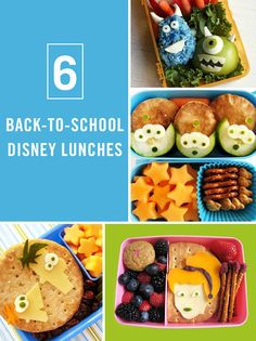 These Disney bento box lunches are a great way to add a little magic to back-to-school season. The best part of this Disney food art is that it's made of healthy, easy snacks for kids.