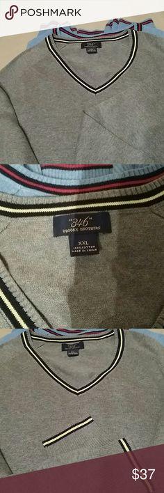 "Men ""346"" Brooks Brothers  sweater Brand new Brooks Brothers Sweaters V-Neck"