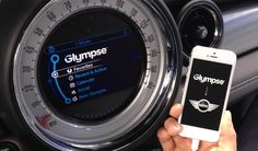 Connected Car: Glympse Partners with BMW and Mini for Location Sharing - Find out more at http://www.latestgadgets.co.uk/transport/9412-bmw-mini-glympse-connected-car