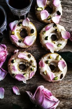 Persian love cake doughnuts