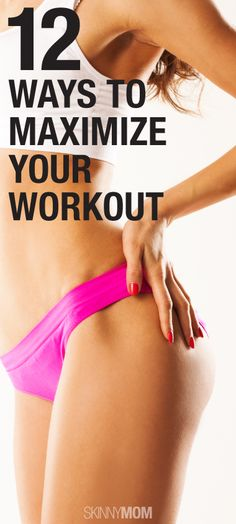 Get the most out of your workout! Re-pin now, check later. #fitnesstips