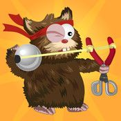 Hamster: Attack! ScreenshotsDescriptionDynamic destruction and cute hamsters -- what more could you ask for?Help Hammy free his friends using his makeshift slingshot in this action-packed puzzle game.Youll play Hammy, the furry freedom fighter, as he frightens cats, knocks things over, blows ...