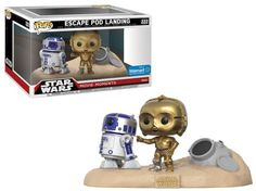 Funko Pop Star Wars Movie Moments Escape Pod Landing (C-3PO and R2-D2)