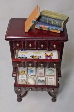 The Dolls House Miniature Bespaq 4 drawer by uniqueminiatures