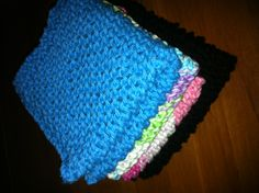 DIY: Knit or crochet your very own dishcloths