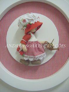Andrea Soares Criações: Camponesas Vermelhas