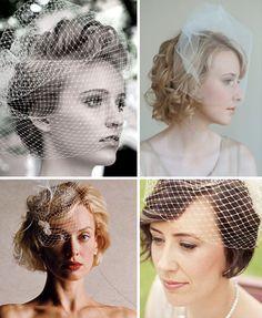 Per le spose con i capelli corti#storhairbride