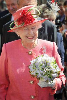 Queen Elizabeth II Photos: Queen Elizabeth II Visits Birmingham As Part Of Her…