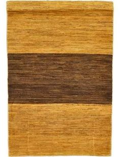 Isabelline One-of-a-Kind Nash Hand-Knotted 3'3 x 4'9 Wool Gold Area Rug Isabelline