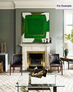 Brass Bolection Fireplace Surround | From a unique collection of antique and modern fireplaces and mantels at https://www.1stdibs.com/furniture/building-garden/fireplaces-mantels/