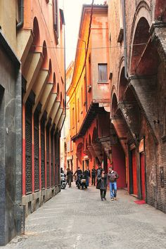 Bologna, Emilia-Romagna, Italy. Our tips for 25 places to visit in Italy: http://www.europealacarte.co.uk/blog/2012/01/12/what-to-do-in-italy/