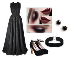 """""""Sneaky Slytherin (Yule Ball)"""" by vcleere on Polyvore featuring Joana Almagro, ASOS and Kate Spade"""