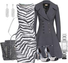 """Zebras on ice"" by troff ❤ liked on Polyvore"