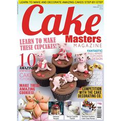 The February issue of Cake Masters Magazine is OUT NOW! All about cookies, cupcakes and cake pops! Purchase your copy here >> http://www.cakemasters.co.uk/product/january-2017-issue/ Subscribe here: http://www.cakemasters.co.uk/shop/ Over cover star is The Yellow Bee Cake Company