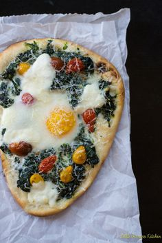 Kale and Egg Breakfast Pizza | These 26 Recipes Will Make You Fall In Love With Kale