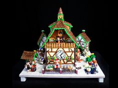 Photo of the National Gingerbread House Competition - Teen 1st Place Winning Entry 2013