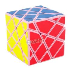 MoYu AoSu Axis Transformers Speed Cube Puzzle - Pink-magiccubemall.com