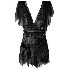 Fashion Dresses 2010 – Dresses Made of Chainmail and Snakeskin – ELLE003 -