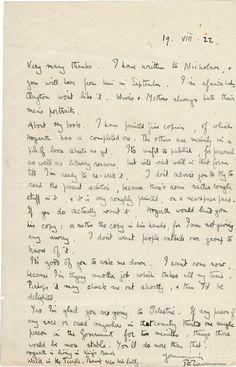 T.E. Lawrence of Arabia on Palestine | Shapell Manuscript Foundation