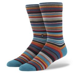 Stance Socks – my husband's FAVORITE brand of socks!  I got him a pair for Christmas and he won't buy anything else now.  He says they are the most comfortable and stylish socks out there.