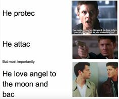 Image result for destiel memes