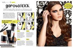 Publieditorial da marca Vult produzido para o  Guia de Make Capricho, 2014.