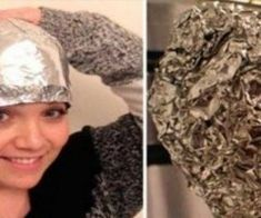 This girl covered her hair with aluminum foil after washing. This girl covered her hair with aluminum foil after washing. Health And Beauty, Hair And Beauty, Healthy Beauty, Healthy Food, Stay Healthy, Healthy Life, Healthy Living, Cheveux Ternes, Best Hairdresser