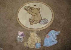 Elegant Classic Winnie The Pooh Rug And Wall Art   $20 (eastern/horizon Ridge)