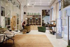 Evocación mediterránea en Henna Morena, nuevo showroom de cosmética natural en Barcelona. 4