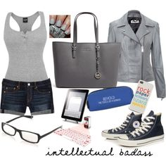 """Intellectual badass"" by veradediamant on Polyvore"