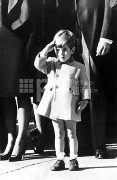 EV 1808 - John F. Kennedy, Jr. salutes as his father''s coffin is taken to St. Matthew''s Cathedral in Washington, D.C., December 18, 1963