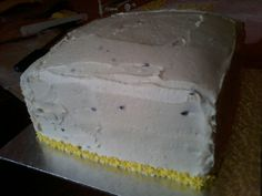 Coconut and passionfruit triple layer Coconut, Cake, Desserts, Food, Tailgate Desserts, Deserts, Kuchen, Essen, Postres