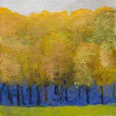 Wolf Kahn pastel