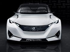 Autosphère - Le Blog - Peugeot Fractal : La magnifique déstructuration