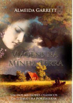 """Capa do livro """"Viagens na Minha Terra"""" de Almeida Garrett."""