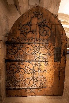 Door from Wells Cathedral