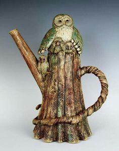 Woodland teapot