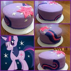 twilight sparkle birthday cakes - Google Search