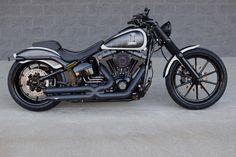 2015 Harley Davidson FXSB BREAKOUT CUSTOM!! CVO KILLER!! $14K IN XTRA'S!!