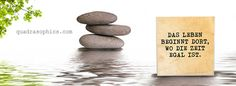 Weisheiten zum Anfassen und Begreifen im praktischen Quadrat.
