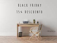 En Missplan nos apuntamos a la moda del BlackFriday 😉 15% de descuento!! Código: BlackFriday2016  El momento ideal para hacer las compras de navidad.  #BlackFriday #Missplan