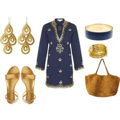 Indian top!!! (I would feel like I had to wear pants with this:)