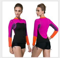 SBART 2mm neoprene wetsuts for women autumn diving equipment spring surfing  suit wetsuit jumpsuit beachsuit swimsuit c21d7b1be
