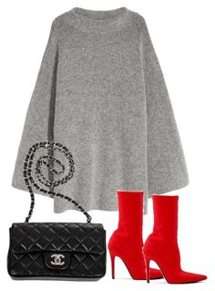 """Untitled #4831"" by theeuropeancloset ❤ liked on Polyvore featuring Chanel"