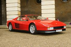 Ferrari Testarossa. This remains to be my Ferrari dream car.