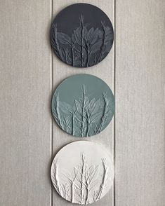 Gray Wall decorative plate for farmhouse kitchen by DinaArtDecor Original housewarming gift and Christmas Amazing botanical bas-relief from art casting for farmehouse rustic wall decoration polymerclaydecor homedecorideas bedroomwalldecor # Rustic Bathroom Decor, Rustic Wall Decor, Rustic Walls, Wall Art Decor, Modern Farmhouse Decor, Farmhouse Kitchen Decor, Farmhouse Style, Decorating Kitchen, Hallway Decorating